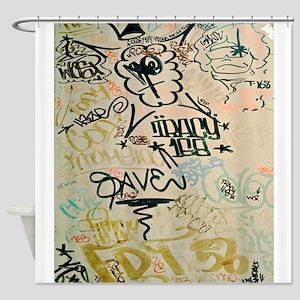 NYC Graffiti Shower Curtain