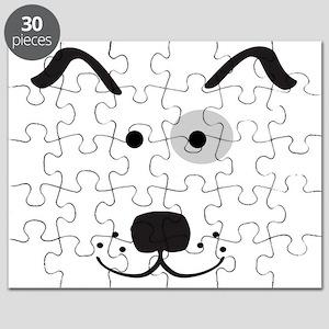 Cartoon Dog Face Puzzle