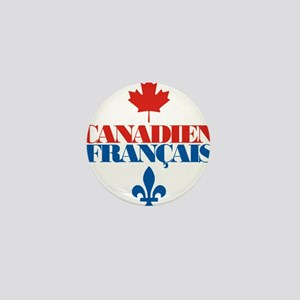 Canadien Francais 5 Mini Button