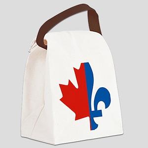 Maple-Fleur Canvas Lunch Bag