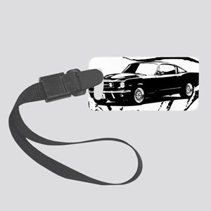 Ford-MustangBLACK Small Luggage Tag