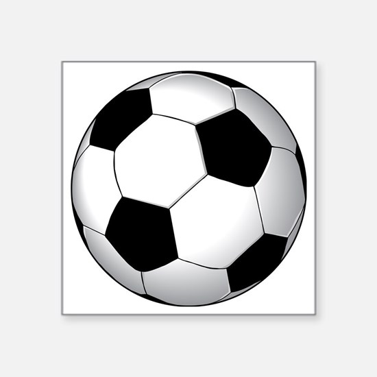 "soccer01 Square Sticker 3"" x 3"""