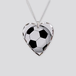 soccer01 Necklace Heart Charm