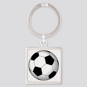 soccer01 Square Keychain