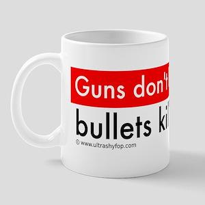 Guns and Bullets Bumper Mug