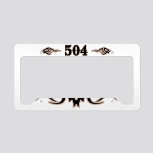 New Orleans 504 License Plate Holder