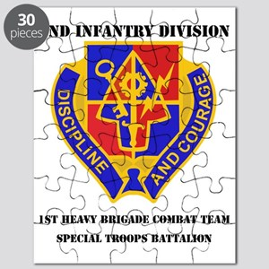 DUI - 1st Bde Special Troops Bn with Text W Puzzle