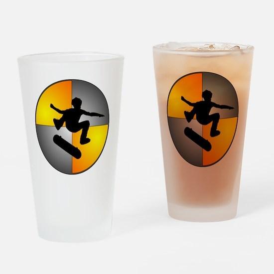 skater_nuke_lrg Drinking Glass