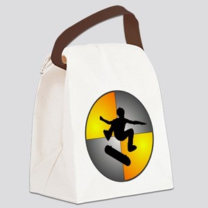 skater_nuke_lrg Canvas Lunch Bag