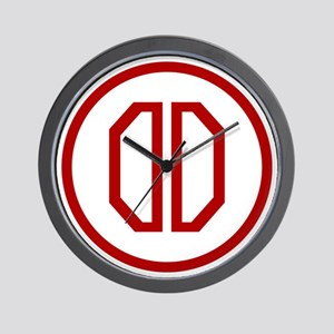 31st Infantry Division Wall Clock