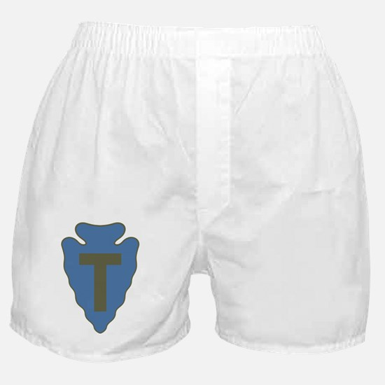 36th Infantry Division Boxer Shorts