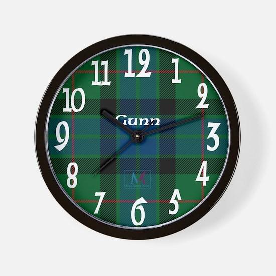 Gunn Clan Wall Clock
