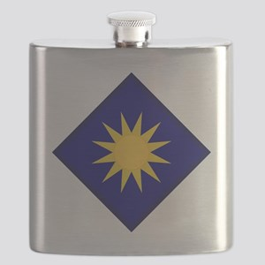 40th Infantry Division Flask