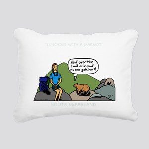 MarmotShirt Rectangular Canvas Pillow