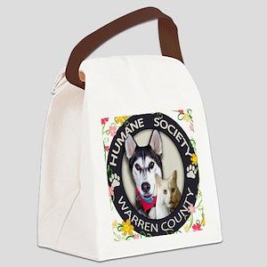 WC HUMANE CIRCLE luke copy Canvas Lunch Bag