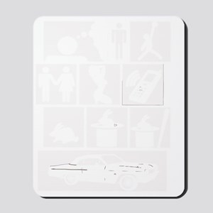 Skee-Lo White Mousepad