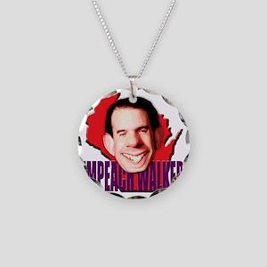 impeachwalker2 Necklace Circle Charm