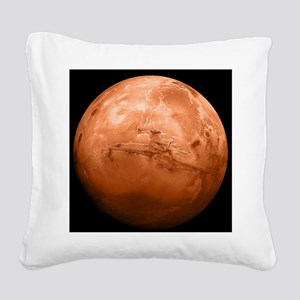 mars-new_b Square Canvas Pillow