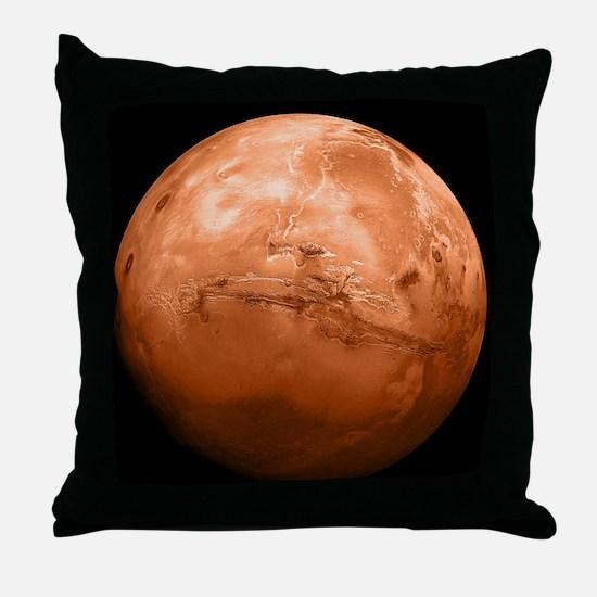 mars-new_b Throw Pillow