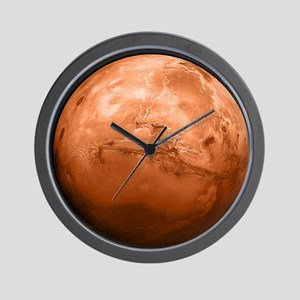 mars-new_12x18 Wall Clock