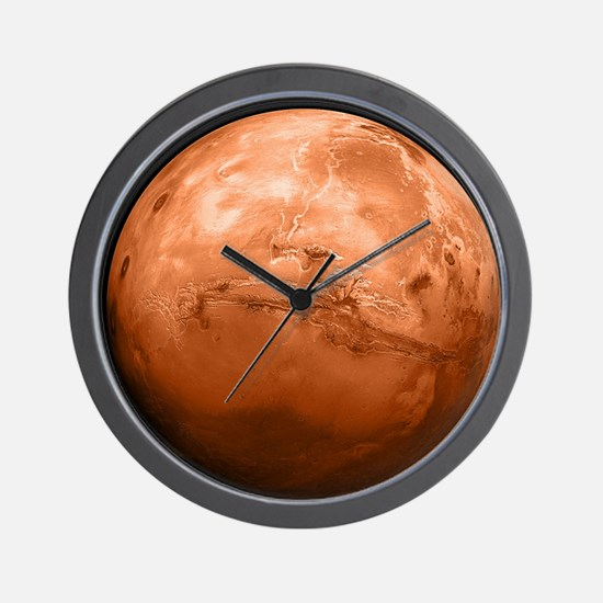 mars-new_12x18 Wall Clock