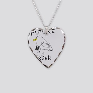 Future-birder Necklace Heart Charm
