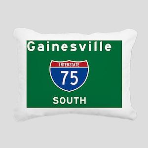 Gainesville 75 Rec Mag Rectangular Canvas Pillow