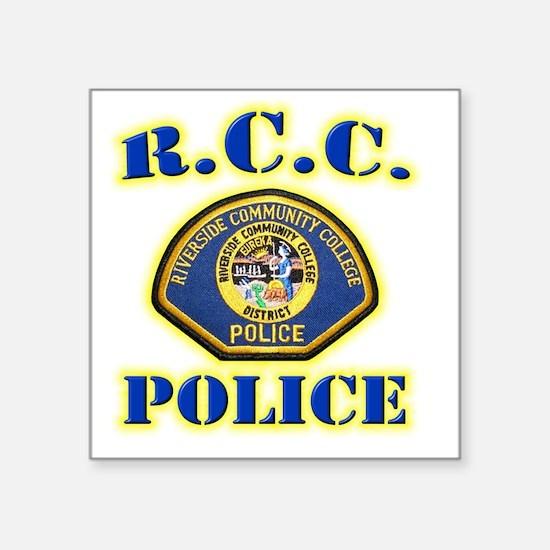 "rcc Square Sticker 3"" x 3"""