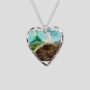 wizofoz Necklace Heart Charm