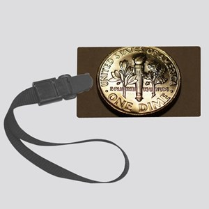 One_Dime_4.5x6.5 Large Luggage Tag