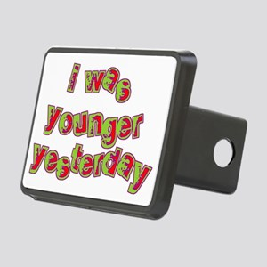 I Was Younger Yesterday Rectangular Hitch Cover