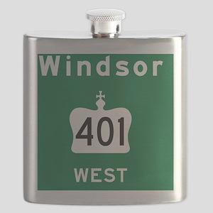 Windsor 401 Rec Mag Flask