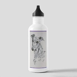Greyhound_Black_KlineS Stainless Water Bottle 1.0L