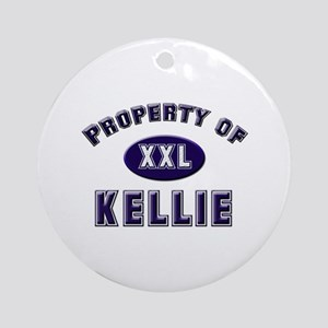 Property of kellie Ornament (Round)