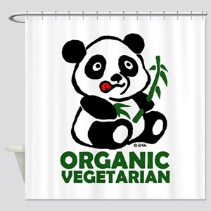 Organic vegetarian Shower Curtain