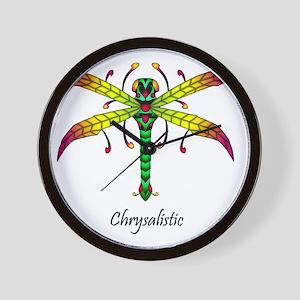 Meadowlantern Dragonfly tshirt Wall Clock