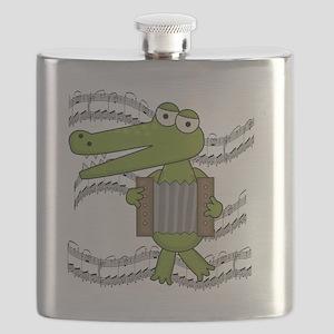 ALLIGATORACCORDION Flask