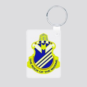 DUI-38TH IN RGT Aluminum Photo Keychain