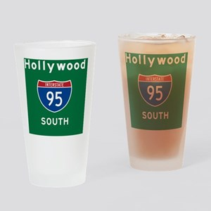 Hollywood 95 Rec Mag Drinking Glass