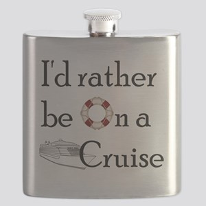 Id Rather Cruise Flask