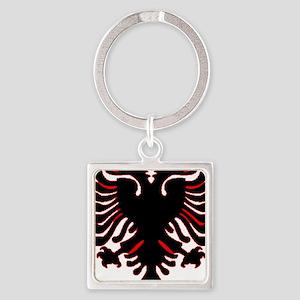 albania-flag Square Keychain