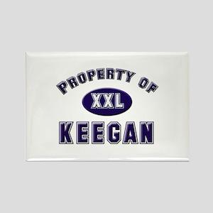 Property of keegan Rectangle Magnet
