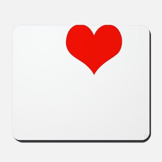 ILOVEOBAMA-WHITE Mousepad