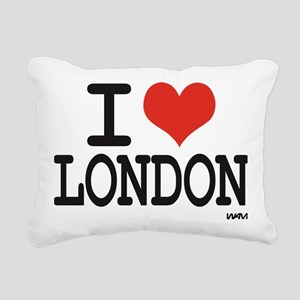 i love london Rectangular Canvas Pillow