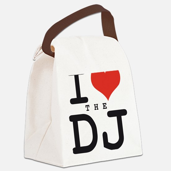 i love the DJ Canvas Lunch Bag