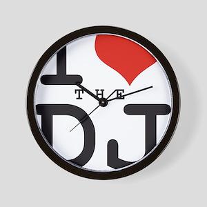 i love the DJ Wall Clock