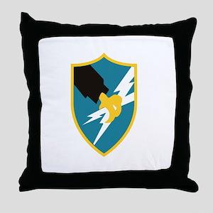 ASA_FTA_Tshirt_Black Throw Pillow