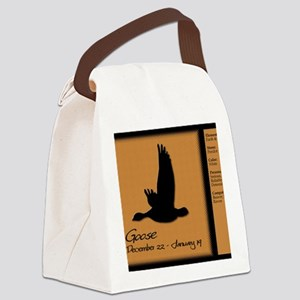 naz_01-goose-f Canvas Lunch Bag