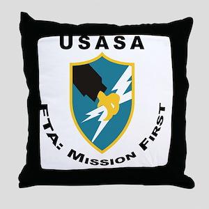 ASA_FTA_Tshirt Throw Pillow