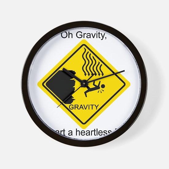 Gravity---BBT-B Wall Clock
